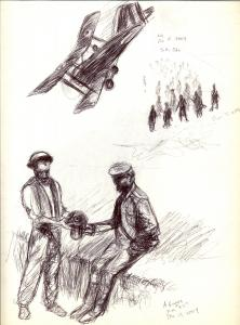 World War One Sketches